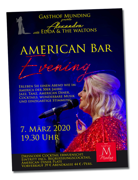 Munding American Bar Evening: Alexandra and the Waltións am 07.03.2020